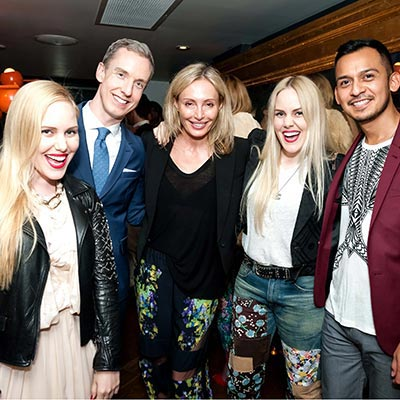 BCBGMAXAZRIA Editor Dinner Hosted by Lubov — Toronto