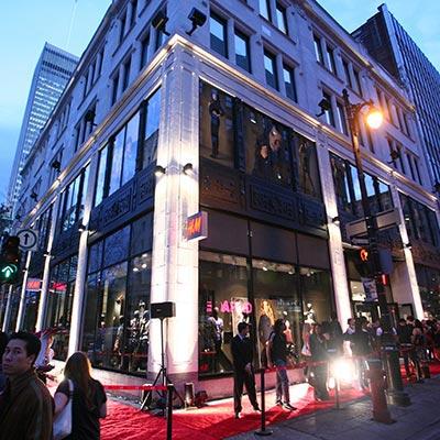 H&M Flagship Openings — Montreal, Ottawa